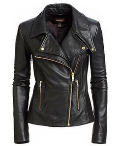 Looking for Infinite-Shop New Women's Black Slim Fit Biker Style Moto Real Leather Jacket ? Check out our picks for the Infinite-Shop New Women's Black Slim Fit Biker Style Moto Real Leather Jacket from the popular stores - all in one. Womens Black Leather Jacket, Lambskin Leather Jacket, Real Leather, Biker Leather, Black Leather Jackets, Motorcycle Leather, Soft Leather, Black Jackets, Leather Blazer