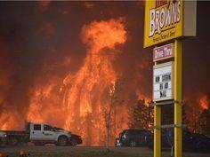 Fort Mcmurray Alberta, wild fire 2016