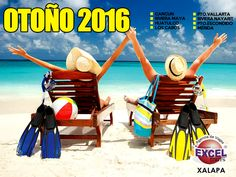 Escápate a la playa este otoño, viaja con Magnicharters a: Cancún, Playa del Carmen, Riviera Maya, Huatulco, Los Cabos, Puerto Vallarta, Riviera Nayarit, Puerto Escondido, Mérida. Contamos con mese…