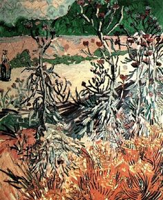 Thistles Vincent Van Gogh Reproduction | 1st Art Gallery