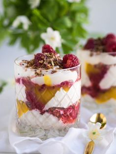 Great Recipes, Favorite Recipes, Healthy Treats, Panna Cotta, Cheesecake, Mango, Brunch, Pudding, Meals