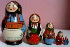 Matryoshka dolls...