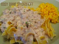 This beef stroganoff recipe was so easy to make and everyone who ate it thought it was delicious!