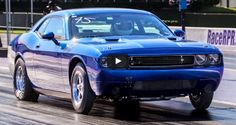 8-Sec Twin Turbo Dodge Challenger Sets New Record
