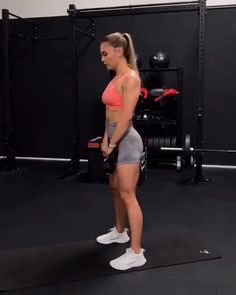 Full Body Hiit Workout, Gym Workout Videos, Fitness Workout For Women, Butt Workout, Gym Workouts, Bikini Fitness, Leg Exercises With Weights, Physical Fitness, Fitness Inspiration