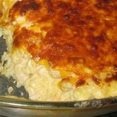 Make plenty of this cheesy chicken and rice dish, as leftovers reheat well.
