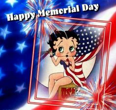 memorial day pictures happy memorial day labour day betty boop bb