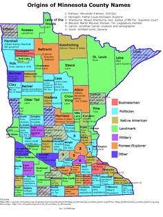 The 6 Real Regions Of Minnesota In 2019 Maps Pinterest