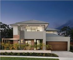 Home Designs - Range of New Modern Home Designs Two Storey House Plans, New Home Designs, Facades, New Homes, House Design, Mansions, House Styles, Modern, Room
