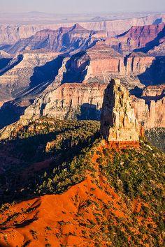Mt. Hayden, North Rim, Grand Canyon National Park, Arizona; photo by James Phelps