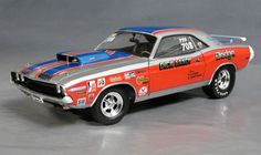 1970 Dodge Challenger, Dandy Dick Landy Pro Stock Details - Diecast cars, diecast model cars, diecast models, diecast collectibles, and diecast muscle cars