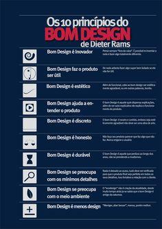 Infográfico: Dieter Rams e o Bom Design - Design Blog
