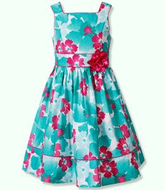 This was Gracie's Easter dress