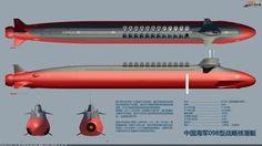 China Newest Type 098 Strategic Nuclear Submarine   Defence Blog