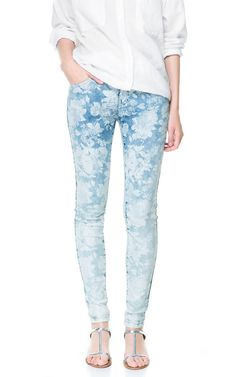 FLORAL JEANS - Collection - TRF - New collection | ZARA United States