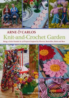 Knit-and-Crochet Garden by Arne & Carlos | Deramores