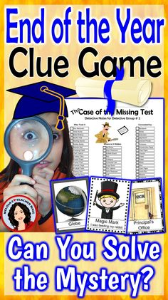 Valentines's Day Mystery, this fun Clue Game is sure to be a hit in your classroom. Use this mystery activity during your Holiday Party or as a fun Friday afternoon treat. This game features items that represent Valentine's Day. Students use the detective Valentines Games, Valentines Day Activities, Valentines Day Party, Holiday Activities, Valentine Box, Valentine Ideas, Valentine Crafts, Classroom Activities, Classroom Ideas