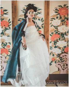 한옥과 한복, 그 아름다운 조화, 서담화 < 뉴스 < 월간웨딩21 웨프