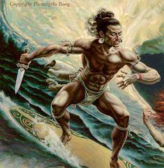 Ecosia - the search engine that plants trees Hawaiian Tribal, Hawaiian Art, Polynesian Art, Polynesian Culture, Caricatures, Maori Patterns, Maori People, Spiritual Warrior, Fantasy Art Men