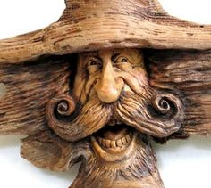 One of my favorites by Nancy Tuttle wood carving