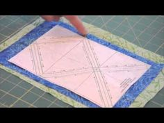 The Very Best Way to make Half Square Triangles.