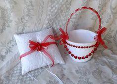 Mira este artículo en mi tienda de Etsy: https://www.etsy.com/listing/261981946/valentines-wedding-set-4-pcs