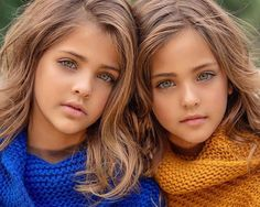 People Are Asking If Twins Dubbed 'Most Beautiful Girls' Were Forced Into Modeling Beautiful Little Girls, Beautiful Children, Beautiful Eyes, Most Beautiful, Twin Models, Young Models, Child Models, Little Boy Haircuts, Petite Fille