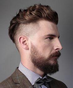 Männer Rasierten Frisuren  Smart Frisuren für Moderne Haar