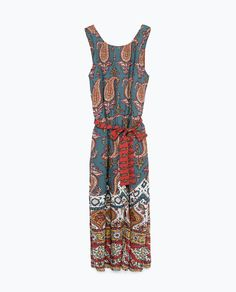 Image 8 of CROPPED JUMPSUIT from Zara