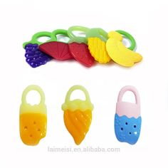 New Soft Silicon Chewable Toothbrush Teeth Massager Brush For Kid Baby Infant FI