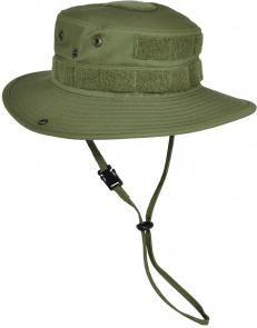Hazard 4 SunTac Cotton Boonie Hat with MOLLE, OD Green, Regular 7.25 inch