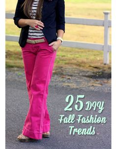 25 DIY Fall Fashion Trends