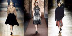 2. Τα αγαπημένα ανδρικά δετά παπούτσια που κατά παράδοση συμπληρώνουν το ανδρόγυνο λουκ, φέτος κάνουν την ανατροπή και συνδυάζονται με βραδινά φορέματα και κομψές φούστες, όπως είδαμε στην συλλογή του Alber Elbaz για τον οίκο Lanvin. [Lanvin. Marni και Dries Van Noten]