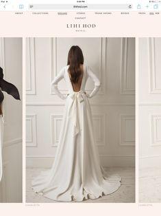 😘🤑🕶👚⛑🤪🥰😵👒 Pretty Dresses, Beautiful Dresses, Wedding Goals, Wedding Wishes, Dream Wedding Dresses, Dream Dress, Perfect Wedding, Evening Gowns, Wedding Styles