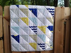 Baby Quilt - Nautical