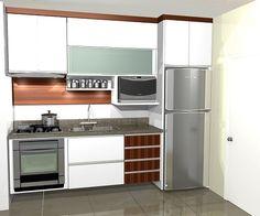 Cozinha kitchen interior, small kitchen set, new kitchen, kitchen dining, k Small Kitchen Set, New Kitchen, Kitchen Dining, Kitchen Decor, Kitchen Cabinets, Kitchen Appliances, Kitchen Plants, Kitchens, Kitchen Interior