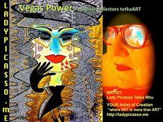 "Tetka Rhu - Google+ ..... Vegas Power: Original Collectors Vegas Connection tetkaART  ARTIST: Lady Picasso Tetka Rhu YOUR Artist of Creation ""where ART is more than ART"" http://ladypicasso.me  #tetka #arts #artist #business #entrepreneurs #success #vegas"