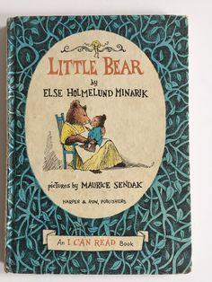LITTLE BEAR by Else Holmelund Minarik illust. by Maurice Sendak First Edition 1957 Copyright by BROCANTEBedStuy on Etsy