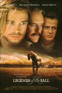 Brad Pitt Legends of the Fall Movie wallpapers. Brad Pitt Legends of the Fall movie poster. Brad Pitt Legends of the Fall movie wallpaper. Aidan Quinn, The Fall Movie, See Movie, Beau Film, Old Movies, Great Movies, Best Fall Movies, Amazing Movies, Film Movie