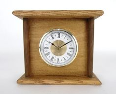 $35.00 - This Rustic Wood Clock is handcrafted from pallet wood, then stained and sealed with walnut tinted Danish Oil. Due to having been created from pallets, the wood does have the nail holes and other imperfections that give it its rustic charm. Yet, its simple and stylish design makes it a perfect fit with just about any rustic, primitive, or traditional decor... Click on the image above for more information or to buy from WileWood. Thank you for your interest!