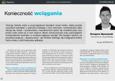 Komunikacja transmediowa - Konieczność wciągania by Grzegorz Byszewski #socialmedia #transmedia #marketing