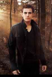Stefan Salvatore from the Vampire Diaries