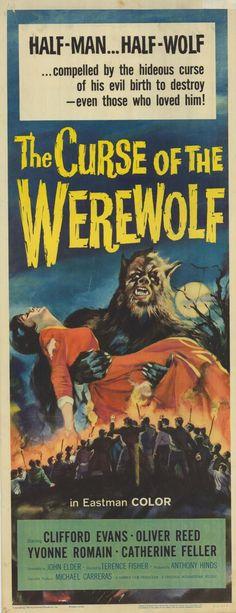CURSE OF THE WEREWOLF POSTER - 1961 Original