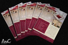 Desenvolvimento de Impressos Promocionais Folder para o cliente: Lumanville