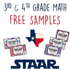Please check out these FREE samples of our STAAR Wars 3rd & 4th Grade Math, Reading, & Writing* Task Cards! We believe it is important to prepare students for the state assessment from the very beginning of the school year, and since there are so few quality STAAR resources on the market, we decided to create these task cards to help our students become more confident and proficient test takers from the get-go.