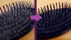 It in't very nice to continually use a dirty hair accessory on a daily basis. However it is easy to clean a hairbrush when you know the best top tips. Clean Hairbrush, Static Hair, Wooden Brush, Dead Hair, Sarah B, How Do You Clean, Tangled Hair, Brush Type, Vape Tricks