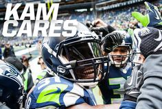 A happy, water-filled birthday to Kam Chancellor