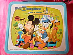 Lunchbox~Walt Disney World metal lunchbox. Click on the image for more information.