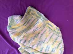 Pram Blanket knitted by hand in a soft and snuggly Baby Baby Keepsake, Baby Knits, Prams, Baby Skin, Baby Knitting, Sensitive Skin, Stripes, Hands, Colours