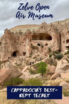 If you're planning a trip to Turkey's Cappadocia area, make sure Zelve Open Air Museum is on your itinerary.one of the best-kept secrets here! Istanbul Travel, Travel Inspiration, Travel Ideas, Travel Tips, Turkey Travel, Cappadocia, Travel Alone, Caves, Solo Travel
